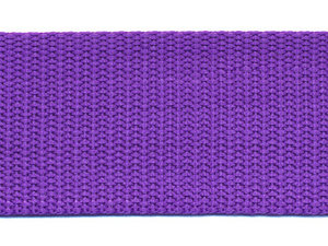 Tassenband 38 mm paars (ca. 50 m)