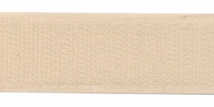 Klittenband 25 mm creme (ca. 18 m)