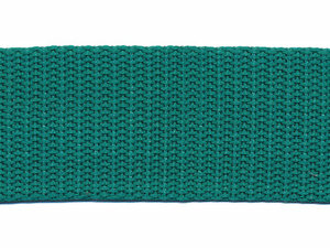 Tassenband 30 mm zeegroen (50 m)