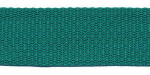 Tassenband 25 mm zeegroen (50 m)