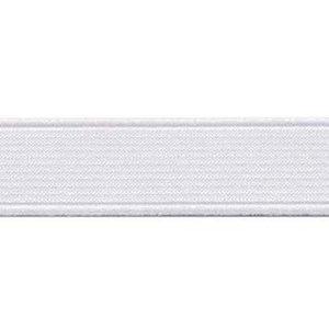 Wit elastiek ca. 20 mm (25 m)