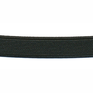 Zwart elastiek ca. 15 mm (150 m)