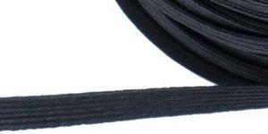 Zwart elastiek ca. 5 mm (250 m)