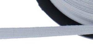 Wit elastiek ca. 5 mm (250 m)