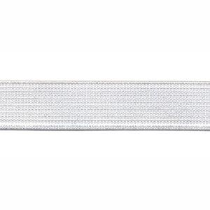 Wit elastiek ca. 15 mm (100 m)