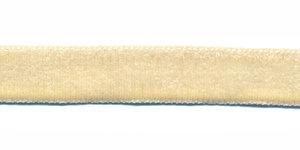 Creme fluweelband 13 mm (ca. 32 m)