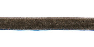 Antraciet fluweelband 9 mm (ca. 32 m)