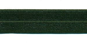 Legergroen #017 elastisch biaisband 20 mm (ca. 25 m)