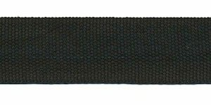 Biesband ca. 22 mm zwart (100 m)