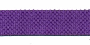 Tassenband 20 mm paars (50 m)
