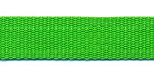 Tassenband 20 mm gifgroen (50 m)