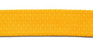 Tassenband 20 mm geel (50 m)