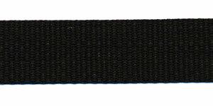 Tassenband 20 mm zwart (50 m)