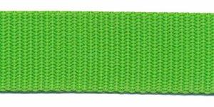 Tassenband 25 mm gifgroen (50 m)