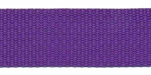 Tassenband 25 mm paars (50 m)