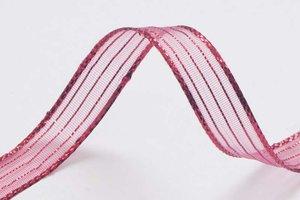 Metallic glanslint fuchsia 10 mm (ca. 30 m)