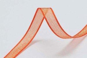 Glanslint oranje 7 mm (ca. 30 m)