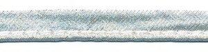 Zilverkleurig piping-/paspelband - STANDAARD 2 mm koord (ca. 10 meter)