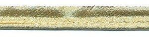 Goudkleurig piping-/paspelband STANDAARD - 2 mm koord (ca. 10 meter)
