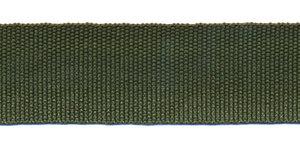 Biesband ca. 22 mm legergroen (100 m)