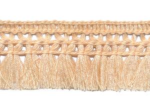 Franje-kwastjesband ivoor ca. 32 mm (ca. 16 meter)