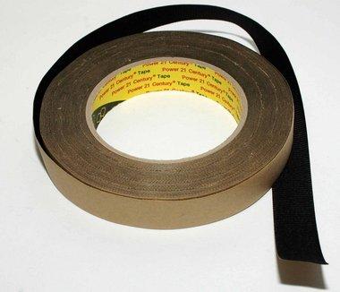 Zelfklevende afwerkingstape voor diadeems zwart (1 meter)