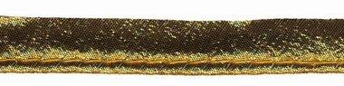 Goudkleurig (warm) piping-/paspelband STANDAARD - 2 mm koord (ca. 10 meter)