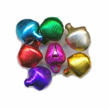 Belletjes mix kleuren 8 mm (ca. 200 stuks)