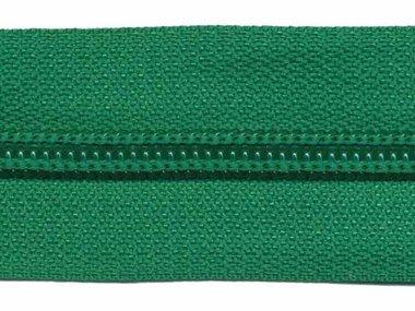 Nylon rits groen #540 maat 5 (ca. 5 m)
