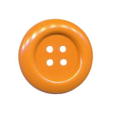 Knoop groot oranje 35 mm (ca. 25 stuks)