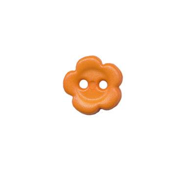 Bloemknoop oranje 10 mm (ca. 100 stuks)