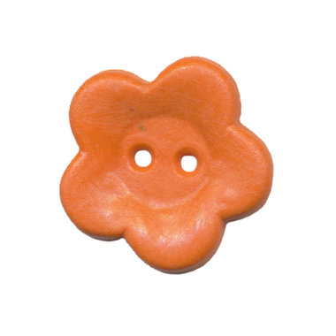 Bloemknoop oranje 25 mm (ca. 25 stuks)