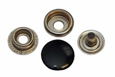 Drukker zwart 15 mm, type 4-7 (ca. 25 stuks)