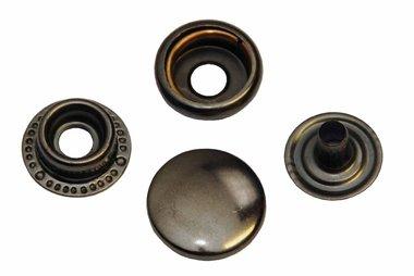 Drukker oud nikkel 15 mm, type 4-7 (ca. 25 stuks)