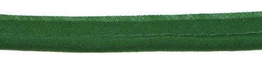 Donker groen piping-/paspelband DIK - 4 mm koord (ca. 10 meter)
