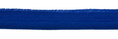 Kobalt blauw piping-/paspelband DIK - 4 mm koord (ca. 10 meter)