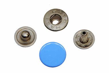 Drukker blauw 12 mm, type VT5 (ca. 25 stuks)