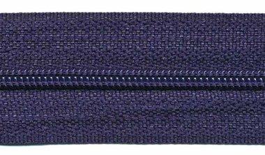 Nylon rits donker blauw #919 maat 3 (ca. 5 m)