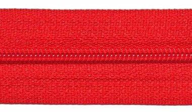 Nylon rits rood #519 maat 3 (ca. 5 m)
