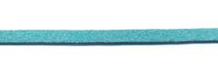 Imitatie suede veter appelblauwzeegroen 3 mm (ca. 10 m)