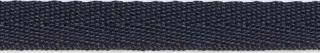 Donker blauw keperband 10 mm (ca. 25 m)
