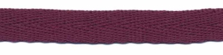 Aubergine keperband 10 mm (ca. 25 m)