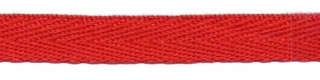 Rood keperband 10 mm (ca. 25 m)