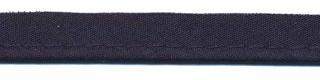 Donker blauw piping-/paspelband STANDAARD - 2 mm koord (ca. 10 meter)
