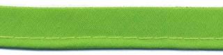 Gifgroen piping-/paspelband STANDAARD - 2 mm koord (ca. 10 meter)
