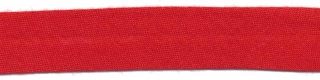 Rood biaisband 13 mm (ca. 10 meter)