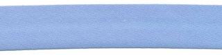 Licht blauw biaisband 13 mm (ca. 10 meter)