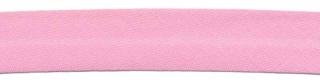 Roze biaisband 13 mm (ca. 10 meter)