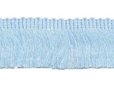 Franjeband lichtblauw ca. 30 mm (ca. 22 meter)