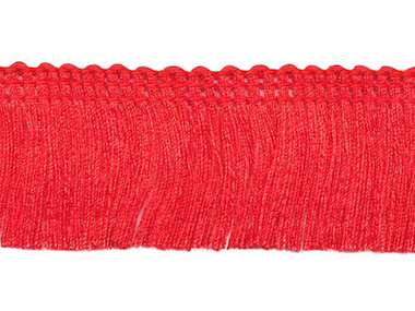 Franjeband rood ca. 30 mm (ca. 22 meter)